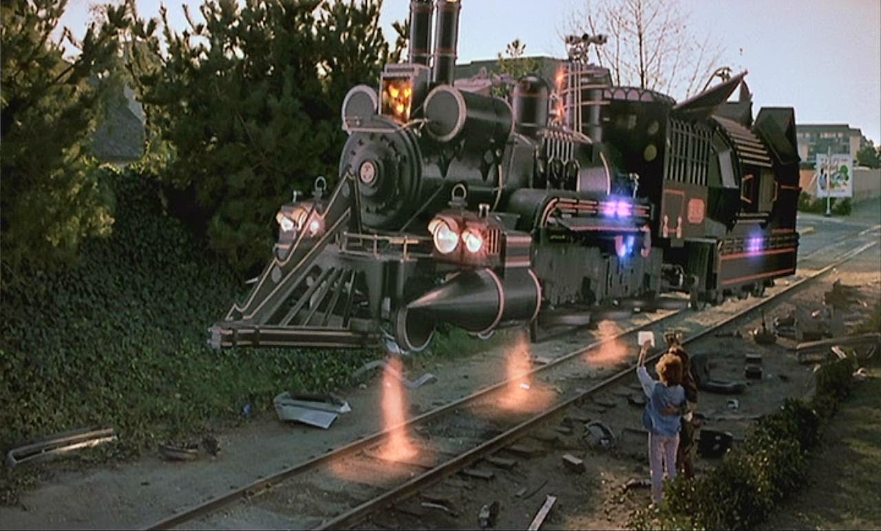 back to the future 3 III jules verne train