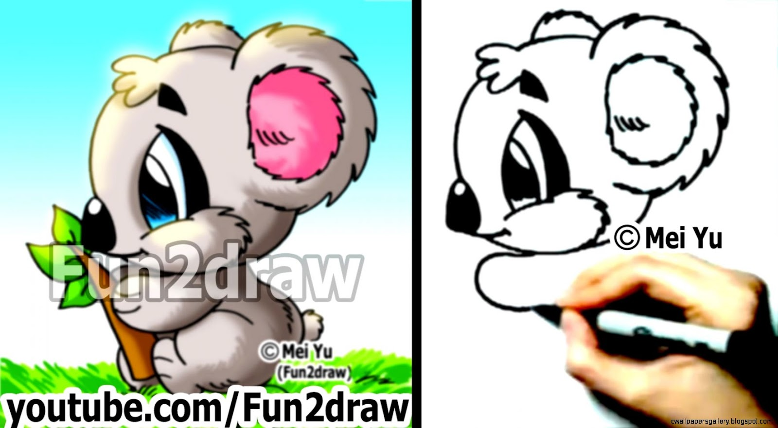 Fun 2 Draw Cute Cartoon Animals Jpg 1600x881 Cartoonputer Fun2draw Showing  Post & Media For Cartoonputer