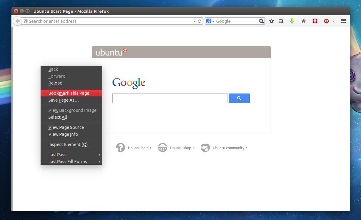 Google themes ubuntu 14.04 - Dark Firefox Context Menu The Default Ambiance Theme Uses A Light Menu Here