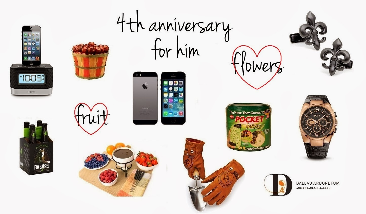 Fruit and Flowers, for him | Sweet Orange Fox