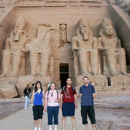 Templo en Abu Simbel