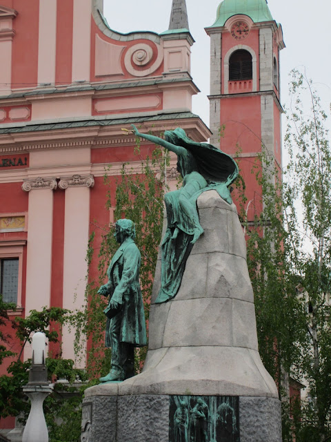 Monument to France Preseren, Ljubljana, Slovenia / Souvenir Chronicles