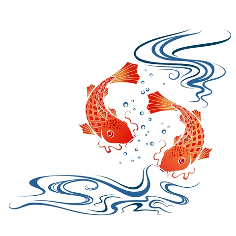 October 2012 koi fish tattoo for Koi fish tattoo designs