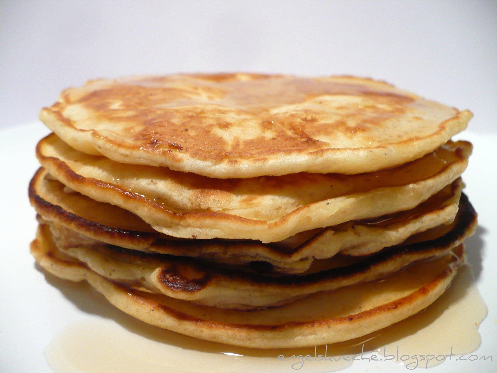 Zutaten (für 1-2 Portionen, 6-12 Pancakes, je nach Größe)