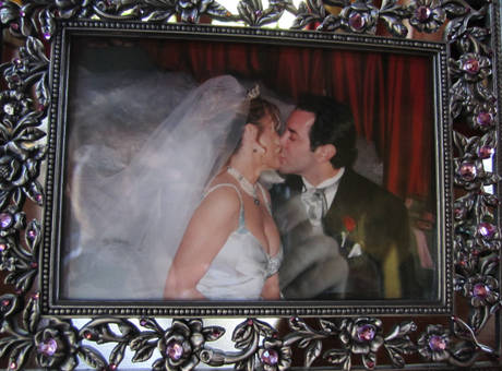 adrienne maloof and dr paul nassif on their wedding day adrienne