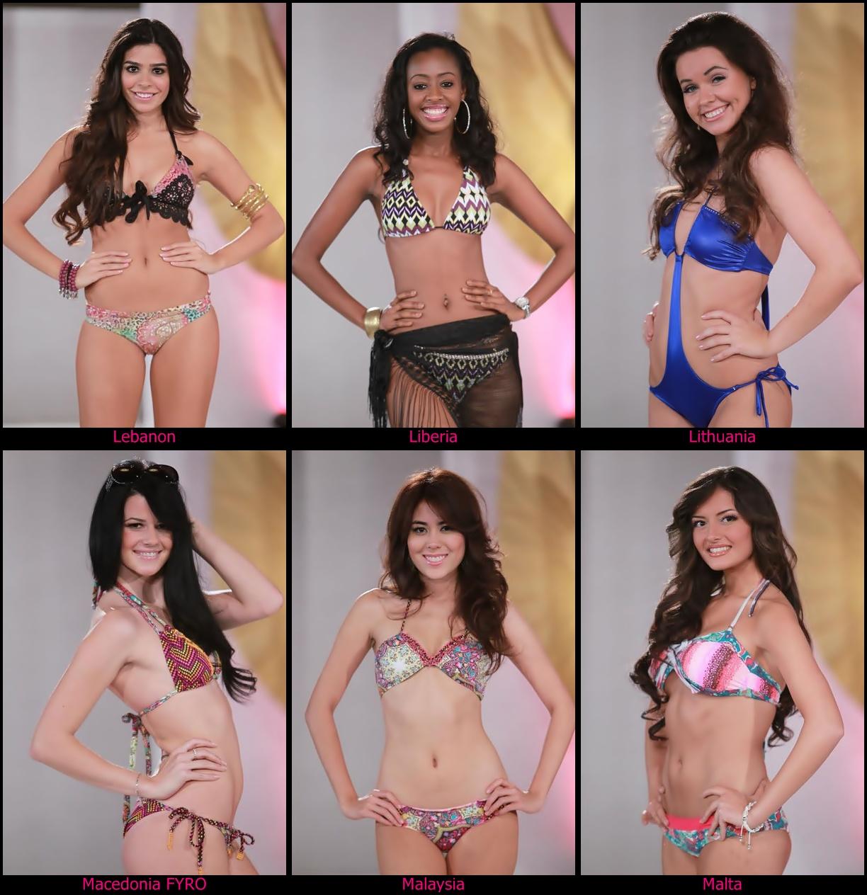 Concursos de Beleza: Candidatas a Miss World 2011 em Beach Beauty