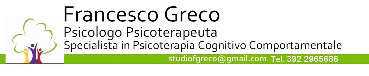 Psicologo Bagheria - Dr. Francesco Greco