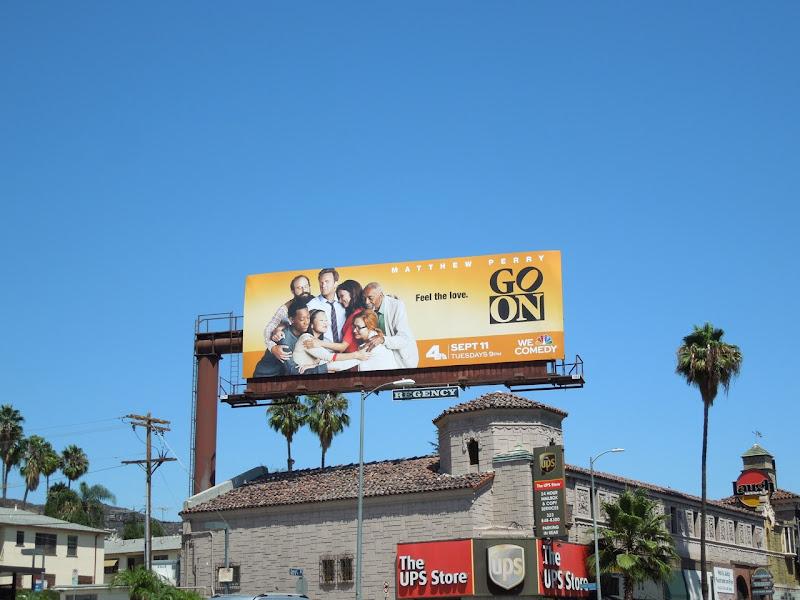 Go On NBC billboard