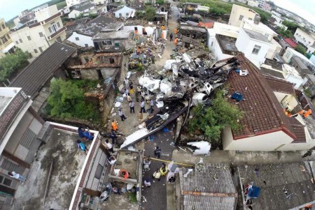 Ribut Akibat Taufan Matmo Dipercayai Punca Nahas Pesawat Taiwan