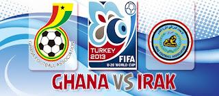 Prediksi Skor Ghana U-20 VS Irak U-20 Tanggal 13 Juli 2013