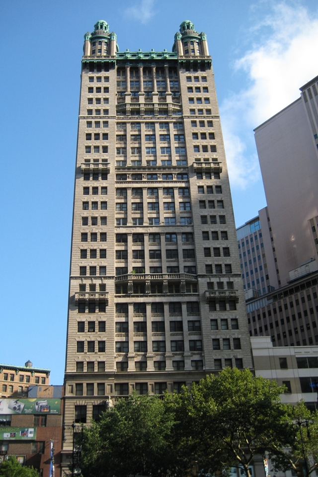 New picture of the Park Row Building, New York City