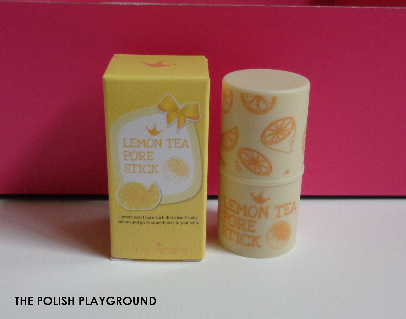 Memebox Special #47 My Dessert Box Unboxing - Shara Shara Lemon Tea Pore Stick