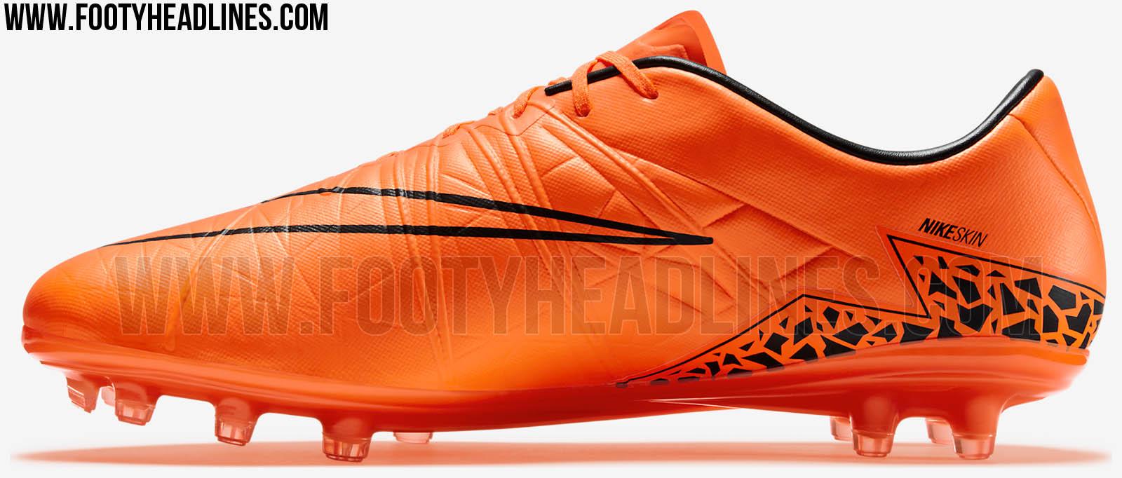 Nike Hypervenom Orange
