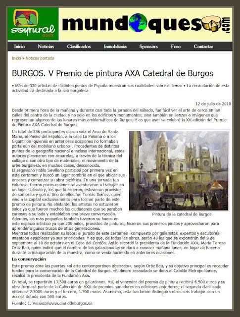 CATEDRAL-BURGOS-PINTURA-DIARIO-WEB-CUADROS-PINTOR-ERNEST DESCALS