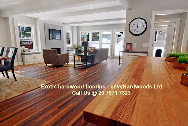 Exotic hardwood floors London - envy Hardwoods