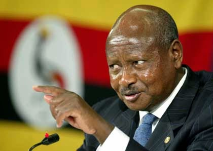 ugandan president insults jonathan