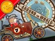Around The World é um jogo de condução. O objetivo do jogo é dirigir por locais cada vez mais difíceis, subindo montanhas íngremes e quedas bruscas, coletando moedas ao longo do caminho! Use as moedas para atualizar o seu carro, tornando-o mais fácil de atravessar o terreno perigoso. Um conselho: tire proveito de seu impulso para fazer os saltos mais difíceis!