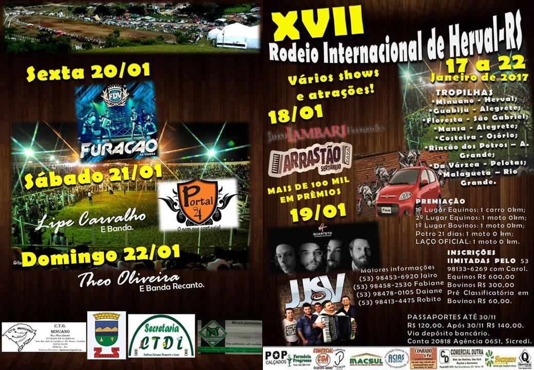 XVII RODEIO INTERNACIONAL DE HERVAL (2017)