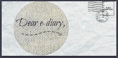 Dear e-diary,