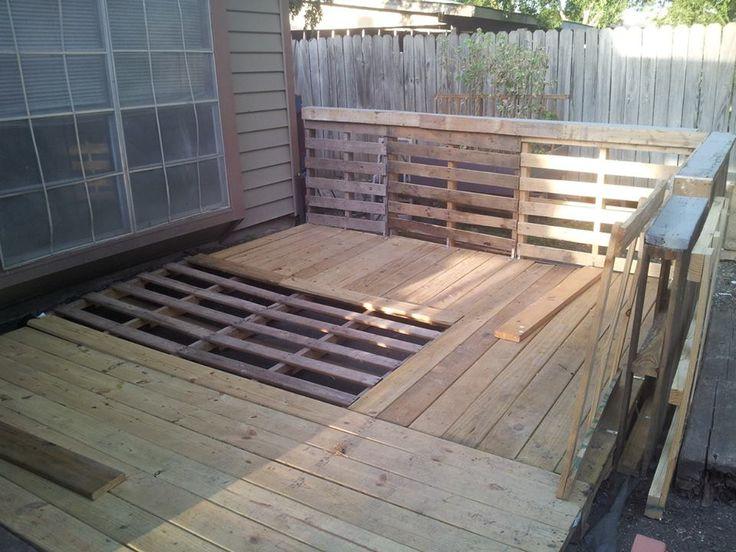 pleins d 39 id es pour cr er des terrasses design en palettes photos du net id es et tuto de. Black Bedroom Furniture Sets. Home Design Ideas