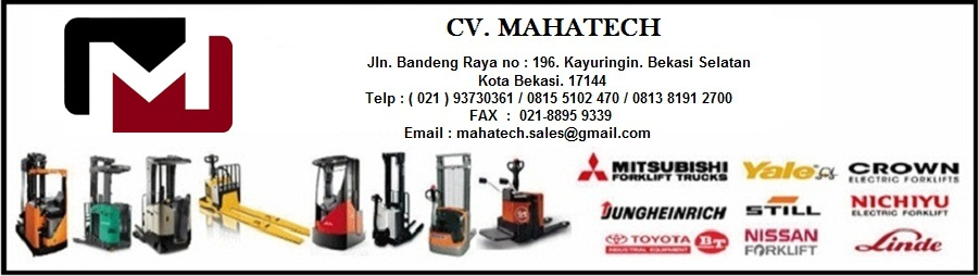 CV. MAHATECH|SERVICE FORKLIFT|SERVICE ELECTRIC DAN SPARE PART FORKLIFT|SERVICE FORKLIFT BEKASI