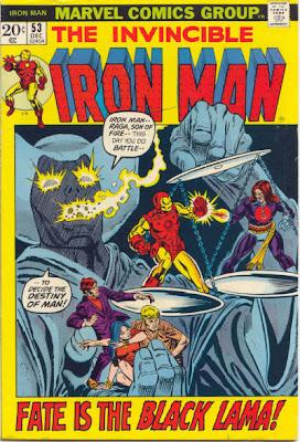 Iron Man #53, Raga