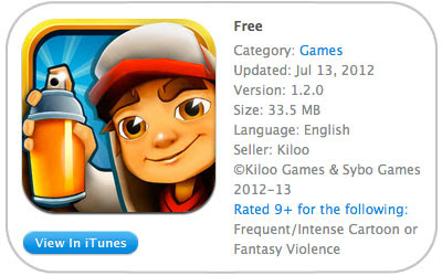 subway surfers disponible para descargar en windows phone 8 subway