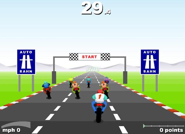 motor yarışı oyunu oyna 3d yarış moturu pistte yarış