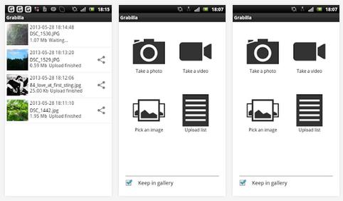 برنامج مجاني لإلتقاط الشاشة صور وفيديو لويندوز وأندرويد وماك Grabilla 1.21 Win,MAC,Android