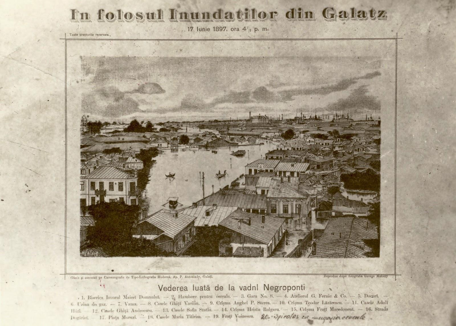 Inundatiile din Galati 1897 - Negroponte