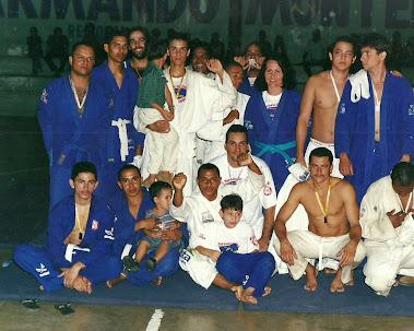 Primeiro Torneio de Jiu-Jitsu realizado em Escada-PE