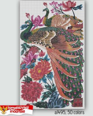 kristik phoenix cross stitch , harga pola pdf Rp 200.000,- Harga ...