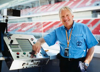 Charlie Whiting-Delegation of Supervisory Race Formula 1 Racing