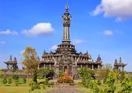 Bajra Sandhi monument in Denpasar city