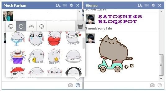 Chatting Semakin Seru Dengan Stiker Facebook