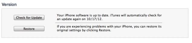 Update iOS 6