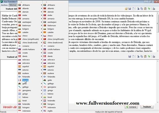 Ace Translator 15 0 0مترجم آنلاین متن - 26