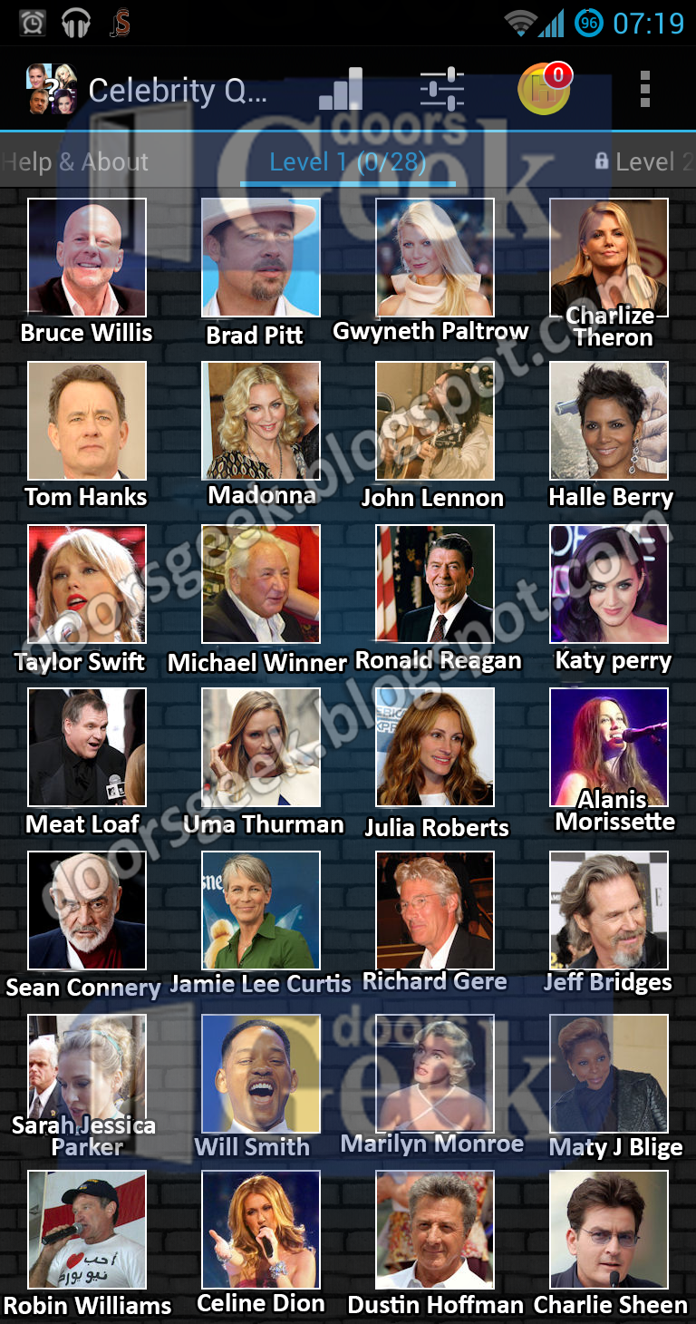 Celebrity quiz and answers 2019
