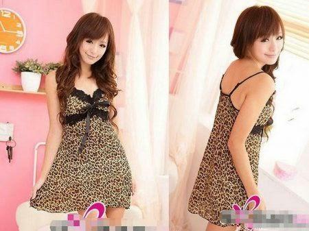 Baju Tidur SL1095 Leopard