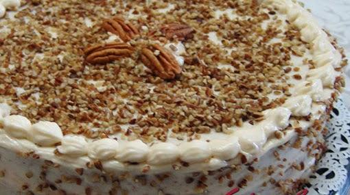 pastel de nueces