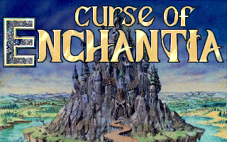 Curse of Enchantia Amiga Title Screen