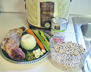 recipe for slow cooker hoppin' john