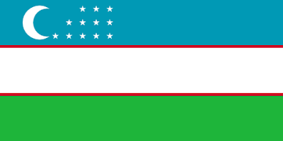 Download Uzbekistan Flag Free