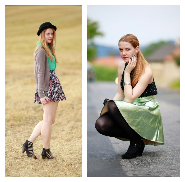 jak nosit sukně, střihy sukní, typy postavy, krásné nohy