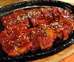 resep Hwangtae gui (황태구이)