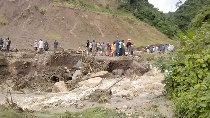 Disaster unfolding as Ethiopia is the latest African land to suffer many deaths from landslides cau