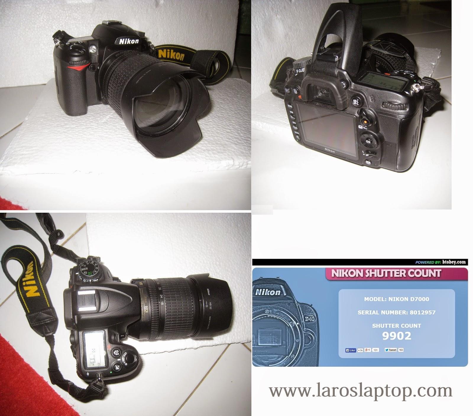 DSLR Nikon D7000 + KIT 18-105mm