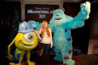 Katherine McNamara at Monsters Inc 3D premiere