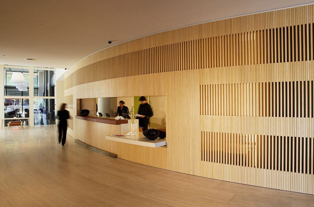 A f a s i a john pawson for Hotel puerta america