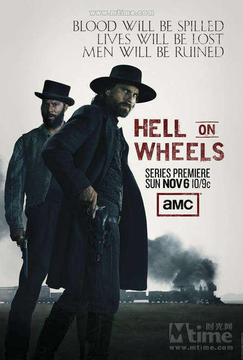 Hell on Wheels S01E08 Derailed HDTV XviD